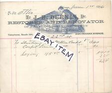 1896 Chicago ILLinois J H DURKIN Carpet restoration & renovation BEEF GALL BHD