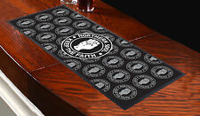 NORTHERN SOUL NERO BAR RUNNER IDEALE PER CASA COCKTAIL PARTY PUB TAPPETINO BIRRA