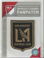 """Los Angeles FC MLS Soccer Patch 2 1/4"""" x 3"""" Sew On Iron On Official Futball Logo"""