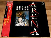 DURAN DURAN Arena 1985 JAPAN NTSC Laserdisc With OBI, Insert & Sticker Sheet