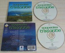 2 CD ALBUM COMPILATION SOUVENIRS D'IRLANDE 40 TITRES