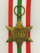 British WWII Italy Star full size veteran replacement medal