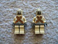 LEGO Star Wars - Rare - 2 Original Tusken Raider Minifigs - Excellent