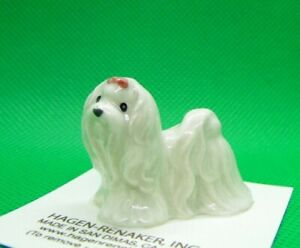 Hagen Renaker Dog Maltese Figurine Miniature New Made in USA 3370