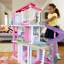 Muñeca Barbie Niñas 3 Pisos Casa De Ensueño Juego Nuevo Y en Caja Envío Rápido
