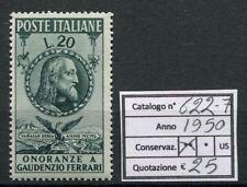 1950 In Onore di Gaudenzio Ferrari - 1 valore NUOVO MNH Repubblica 622