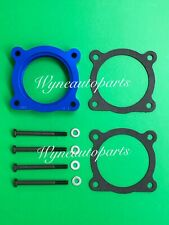 Fit 04-13 Nissan Titan/Armada 5.6L/04-10 Infiniti QX56 Throttle Body Spacer Blue