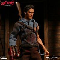 ONE:12 Bruce Campbell Ash Williams Evil Dead 2 action figure Mezco 1/12 Mezco