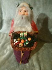 Byers Choice - Called Father Christmas from 1991 - Santa,- Free Shipping