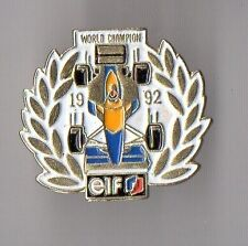 pin's Elf World Champion 1992