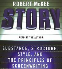 Robert McKee STORY Read by the Author Abridged 5 CD set Story Seminar class NEW