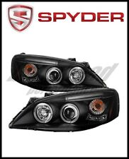 Spyder Pontiac G6 2/4DR 05-08 Projector Headlights LED Halo LED Blk