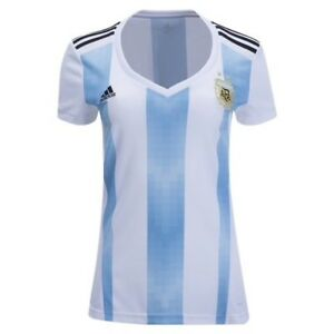Argentina National Soccer Team Jersey Women's Size L Adidas BQ9302