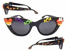 Disney Cat Eye Halloween Sunglasses with Mickey Mouse, Minnie Mouse, Candy Corn