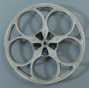 """Vintage Peerless 35 MM Movie Reel, 15"""" Diameter"""