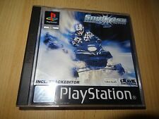 Sno CROIX Championship Course Playstation 1 PS1 PAL COMME NEUF COLLECTORS