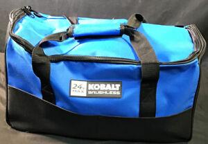 New Open Box Kobalt 4-Tool 24-Volt Max Brushless Power Tool Combo Kit.