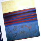 FRANK STELLA YOUR LIPS ARE BLUE ART POSTER LARGE 2005 BELGIUM