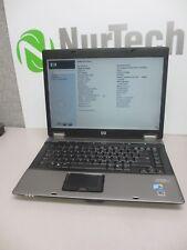 """HP Compaq 6730b 15.4"""" C2D P8600 2.4GHz 4GB NO HDD WiFi DVD/RW Laptop NO AC"""