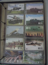 BRAZILIAN ARMY 1996 Complete Set of 14 Different Phone Cards from Brazil