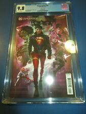 Young Justice #20 Chew Variant CGC 9.8 NM/M Gorgeous gem