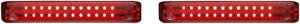 Custom Dynamics PB-SBSEQ-HD-BR Probeam Sequential LED Saddlebag Lights Harley