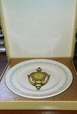 "Exclusive 1970's Avon Dealer Second Anniversary Plate ""The Doorknocker"" with Box"