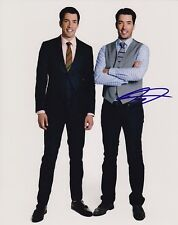 Drew & Jonathan Silver Scott Signed Autograph 8x10 Property Brothers Photograph