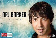 Arj Barker Collectors Gift Set (DVD, 2014, 4-Disc Set) New Region 4