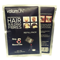 Black Hair Building Fibres Refill Pack 22g Amazing New Concept