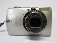 Canon Digital Ixus 750 Ai AF 7.1MP 3x Zoom Premium Metal Body Camera & 2GB SD