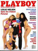 """Playboy Magazine-February 1996-""""Zap"""" American Gladiator Raye Hollitt"""