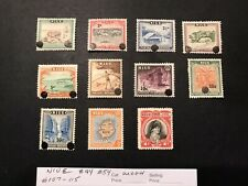 NIUE STAMPS   MINT HINGED  LOT