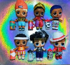 Lol Dolls Boys #1❤️💜BUNDLE X6💜❤️ + accessories COMBINE POSTAGE (CHECK MY LIST