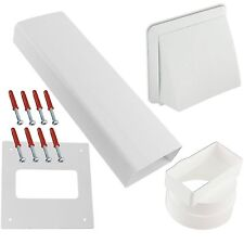 ZANUSSI & JOHN LEWIS Tumble Dryer  Wall Vent Kit - Brick Size Ducting For Ease.