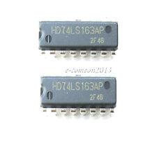 New 10PCS HD74LS163AP 74LS163A 74LS163AP Synchronous 4-Bit Binary Counters