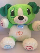 """12"""" My Pal Scout Plush Puppy Leap Frog Interactive Educational Dog"""