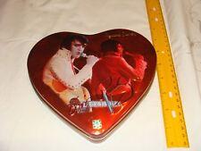 Vintage Elvis Presley Russel Stover Valentine Heart tin