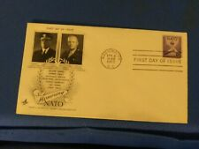 Scott #1008 3 Cent Stamp Honoring NATO First Day Issue