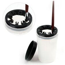 Nail Art Brush Cleaner Holder UV Acrylic Gel Pen Brush Cleanser Cup Bottle Tool