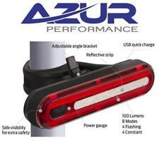 AZUR USB Alien 2 Bike Tail Light - Rechargeable Cycling Light - 100 Lumens