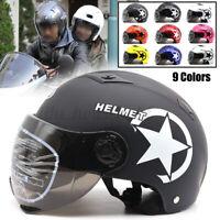 Universal Motorradhelm Motorrad Roller Helm Race UV-beständig Quad Klapphelm