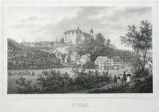 Henderson-vista general-Saxonia-litografía 1839