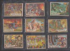 Civil War News by A&BC Gum 9 Colour cards Lot 6