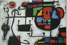 Joan Miro Abstract Vintage Poster Print