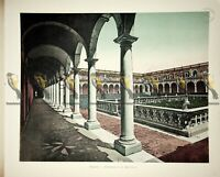 Naples, Charterhouse of S Martino, Italy, Book Illustration (Print), 1899