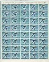olympics 1955 winter sports mint never hinged  stamp sheet R19901