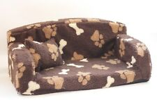 SHERPA FLEECE,PET SOFA. NICE SETTEE. VERY SOFT DOG & CAT BED ANIMAL COUCH