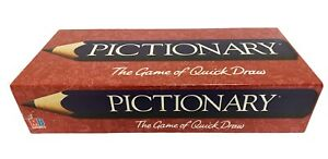 PICTIONARY - The Game of Quick Draw / Authentic MB Board Game / BNIB Collectible