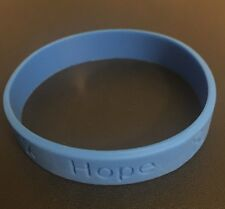 25 Blue Stop Bullying Awareness Silicone ADULT Bracelet Wristbands